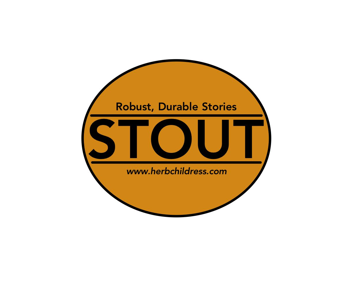 Stout Sticker